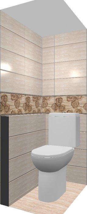 фото:Стоит ли класть в маленькой ванной плитку 30*60?