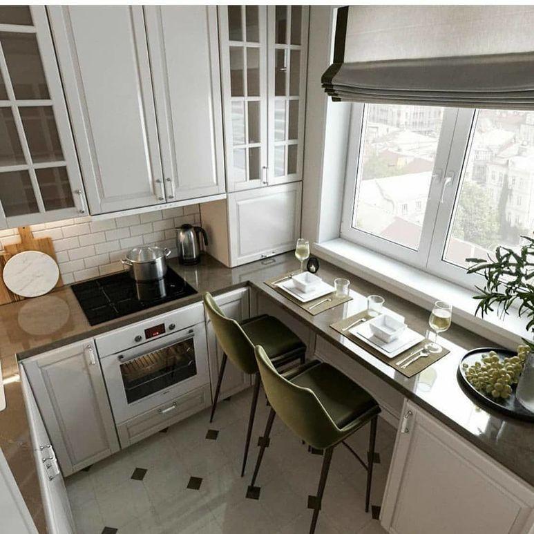 7 идей по оформлению маленькой кухни. Эти советы точно вам пригодятся!