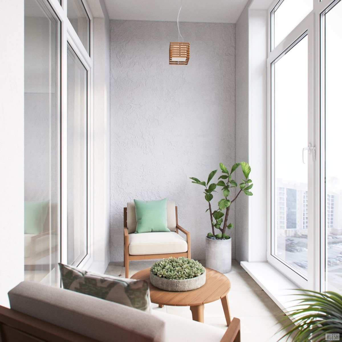 комнатный балкон фото сделать самодельный ручной