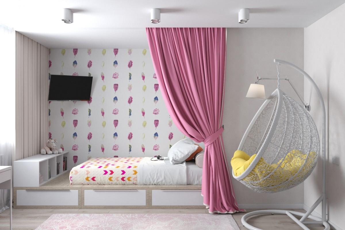 Рекомендации по выбору кровати для девочки