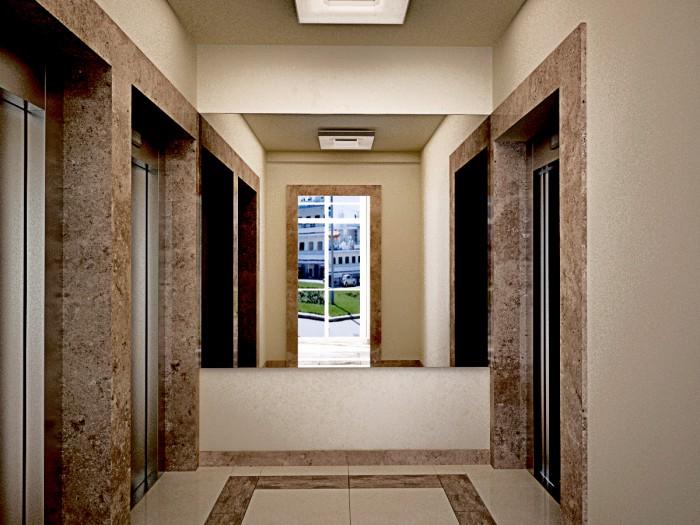 снова поверить холл многоквартирного дома фото моники