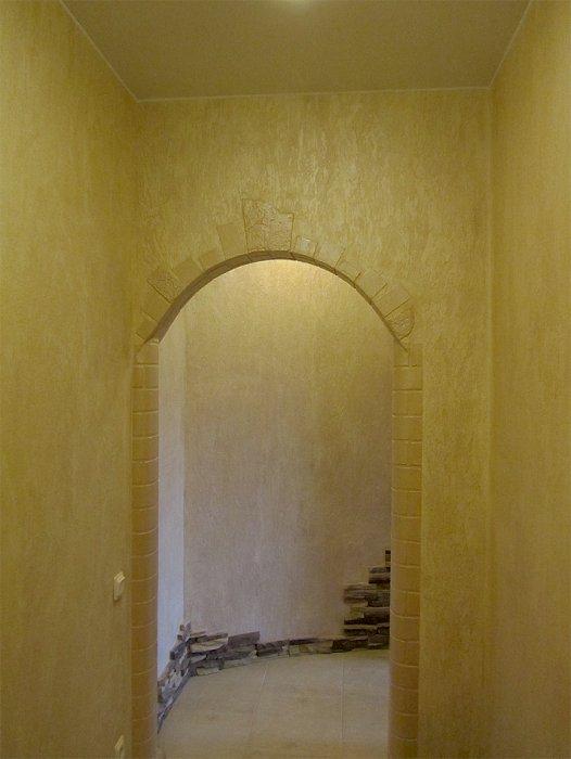 арки оштукатуренные в квартире фото