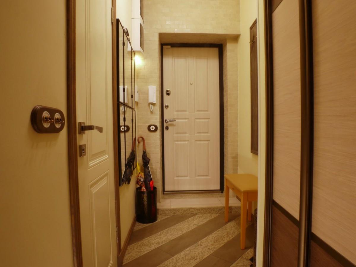 ремонт коридора в квартире фото комсомольска среди