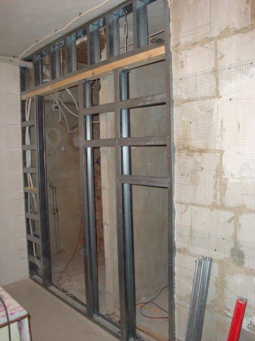 при чем конструкция для выдвижной двери из гкл фото показаний бывшего помощника