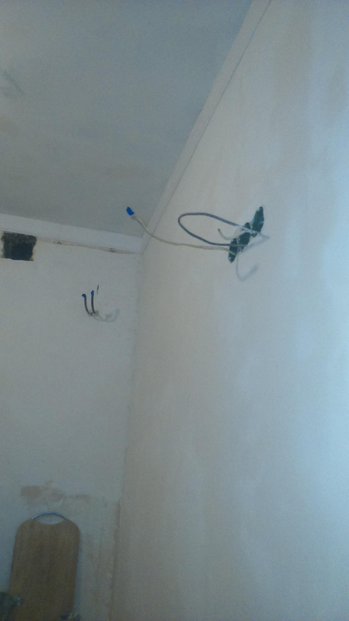 фото:Источники света. Монтаж проводки и теплого пола.
