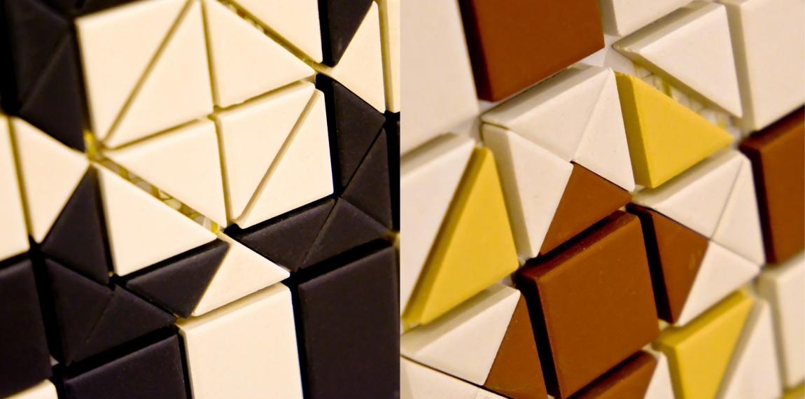 фото:Керамогранит с добавлением фарфоровой глины «TopCer», салон «MixturroMоsaico»
